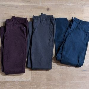 Lot of 3 jeggings by Maurice's